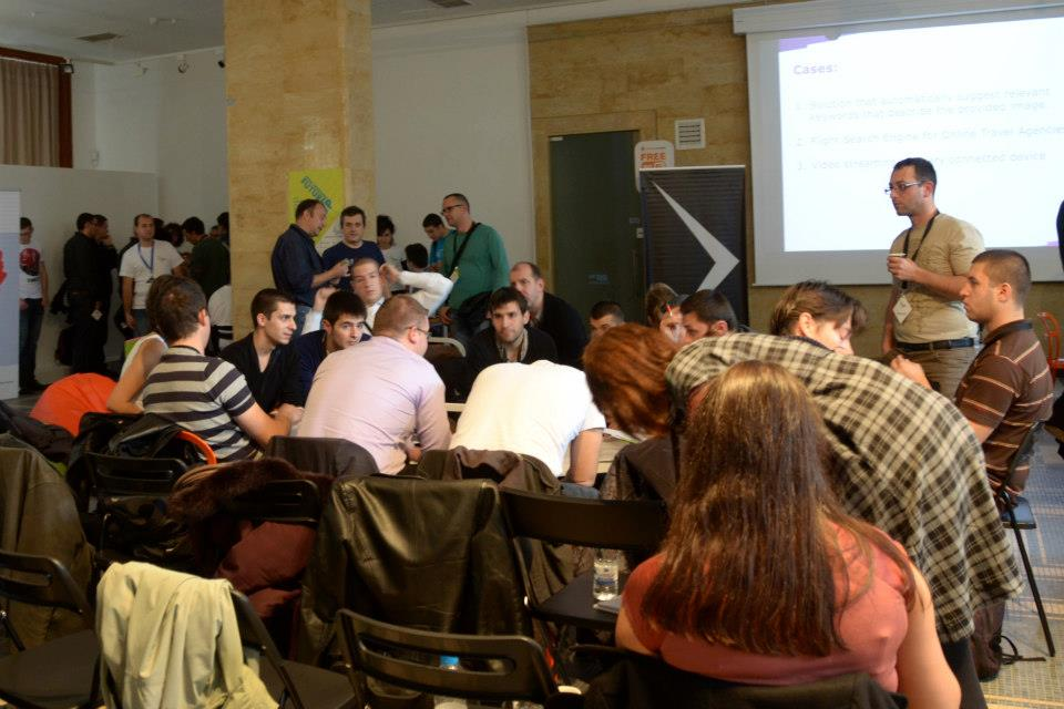 StartUP Conference 2012: работа по групи